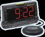 Reloj despertador con luz, vibrador y sonido: 85 euros