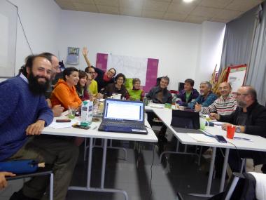 ENTIDADES de la RED de ECONOMÍA ALTERNATIVA Y SOLIDARIA de CASTILLA Y LEÓN nos reunimos este fin de semana