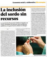 La inclusion del sordo sin recursos