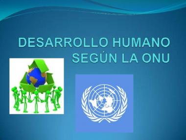 La discapacidad, por primera vez en el informe de desarrollo humano de la ONU 2014