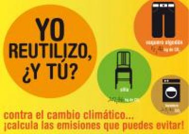 CONTRA EL CAMBIO CLIMÁTICO… YO REUTILIZO, ¿Y TÚ? ¡CALCULA LAS EMISIONES QUE PUEDES EVITAR!